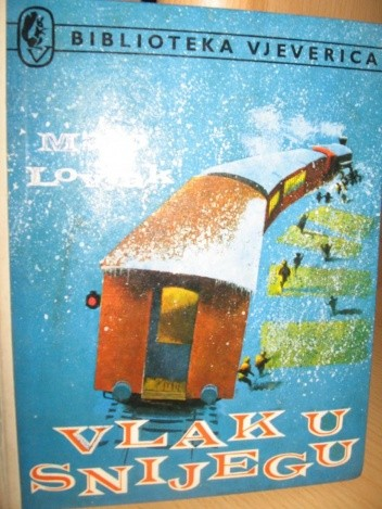 Okładka książki Vlak u snijegu