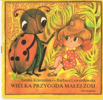 Okładka książki Wielka przygoda małej Zosi