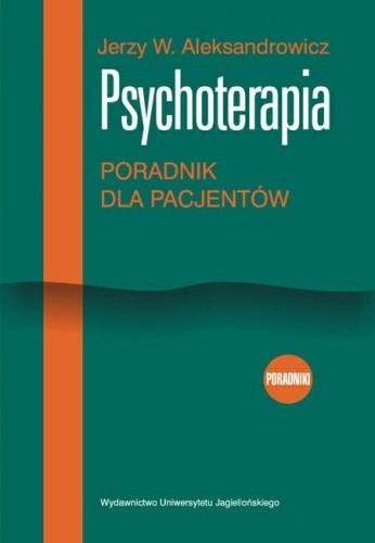Okładka książki Psychoterapia. Poradnik dla pacjentów