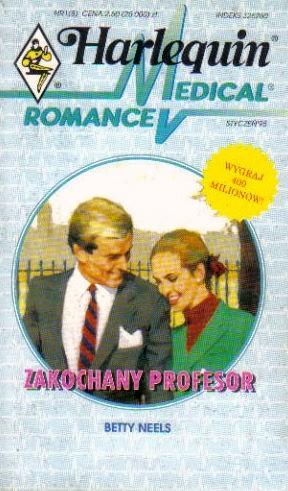 Okładka książki Zakochany profesor