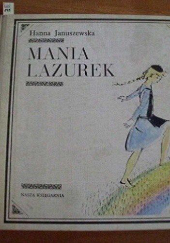 Okładka książki Mania Lazurek