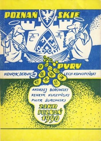 Okładka książki Poznańskie pyry czyli Chichranie i śpiywanie po naszymu