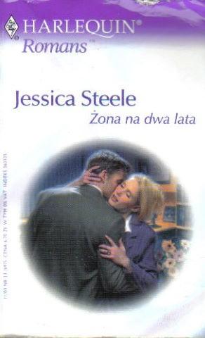 Okładka książki Żona na dwa lata