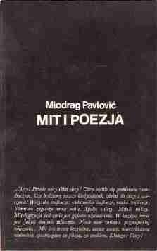 Okładka książki Mit i poezja