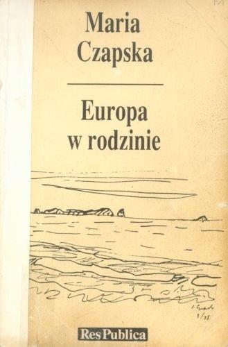Okładka książki Europa w rodzinie