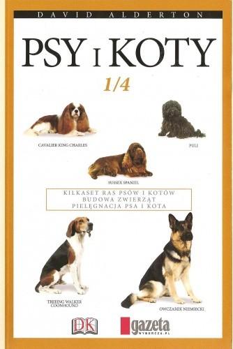 Okładka książki Psy i koty. Tom 1