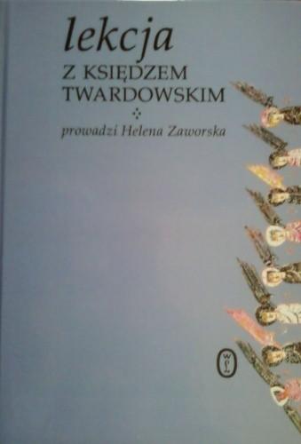 Okładka książki Lekcja z księdzem Twardowskim