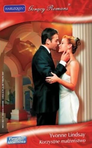 Okładka książki Korzystne małżeństwo