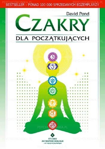 Okładka książki Czakry dla początkujących