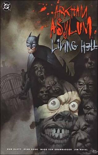 Okładka książki Arkham Asylum: Living Hell
