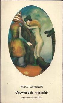 Okładka książki Opowiadanie wariackie