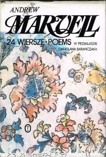 Okładka książki 24 wiersze
