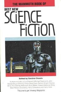 Okładka książki The Mammoth Book of Best New Science Fiction vol. 4