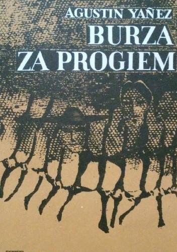 Okładka książki Burza za progiem