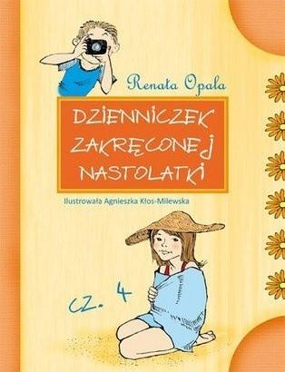 Okładka książki Dzienniczek zakręconej nastolatki cz. 4