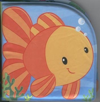 Okładka książki Książeczka do kąpieli. Zwierzęta wodne