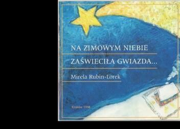 Okładka książki Na zimowym niebie zaświeciła gwiazda...