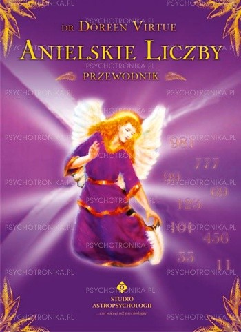 Okładka książki Anielskie liczby. Przewodnik