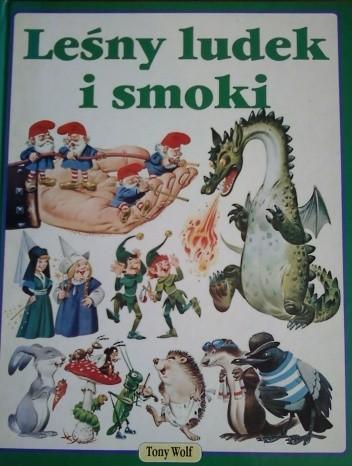 Okładka książki Leśny ludek i smoki