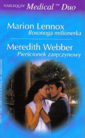 Okładka książki Bosonoga milionerka. Pierścionek zaręczynowy