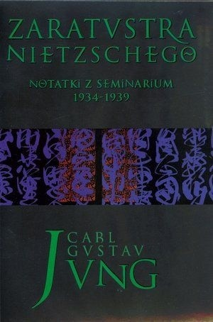 Okładka książki Zaratustra Nietzschego. Notatki z seminarium 1934-1939