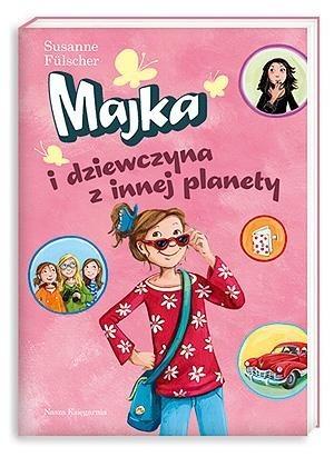 Okładka książki Majka i dziewczyna z innej planety