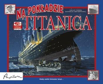 Okładka książki Na pokładzie Titanica