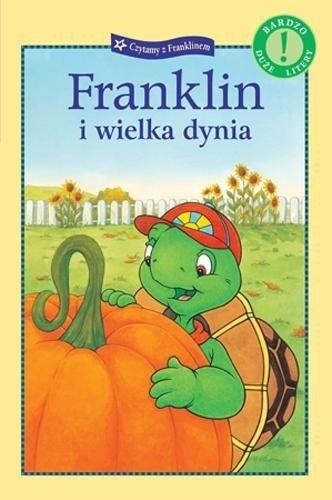 Okładka książki Franklin i wielka dynia