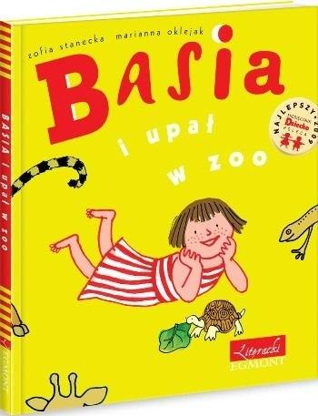 Okładka książki Basia i upał w Zoo