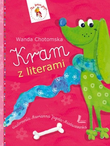 Okładka książki Kram z literami