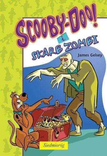Okładka książki Scooby-Doo! i skarb Zombi