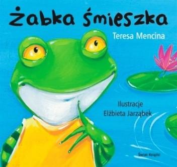 Okładka książki Żabka śmieszka