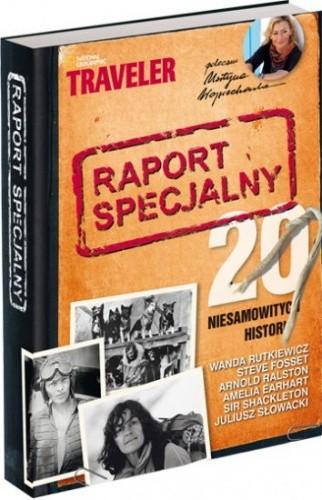 Okładka książki Raport specjalny : 20 niesamowitych historii