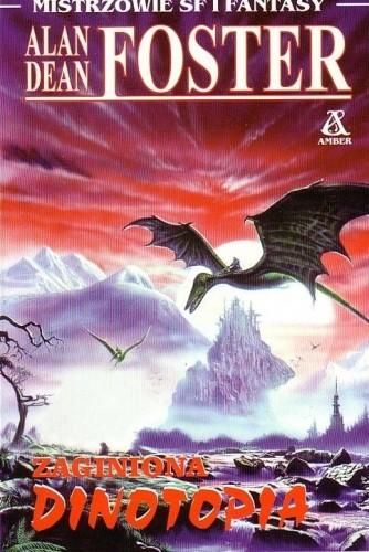 Okładka książki Zaginiona Dinotopia