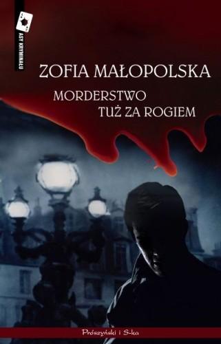 Okładka książki Morderstwo tuż za rogiem