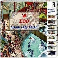 Okładka książki W zoo przez cały dzień