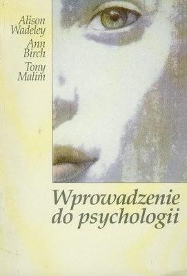 Okładka książki Wprowadzenie do psychologii