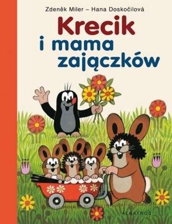 Okładka książki Krecik i mama zajączków
