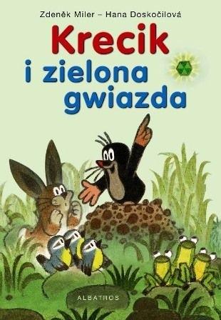 Okładka książki Krecik i zielona gwiazda