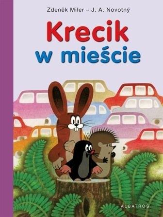 Okładka książki Krecik w mieście