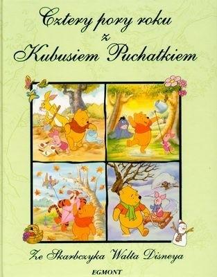 Okładka książki Cztery Pory Roku z Kubusiem Puchatkiem