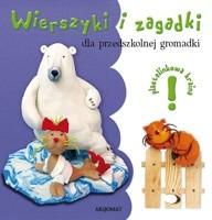 Okładka książki Wierszyki i zagadki dla przedszkolnej gromadki