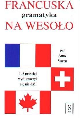 Okładka książki Francuska gramatyka na wesoło