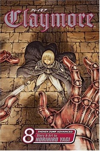 Okładka książki Claymore Volume 08