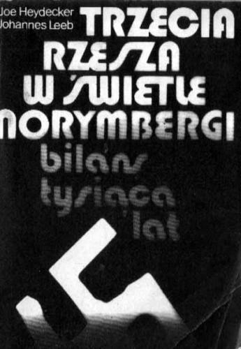 Okładka książki Trzecia Rzesza w świetle Norymbergi : bilans tysiąca lat