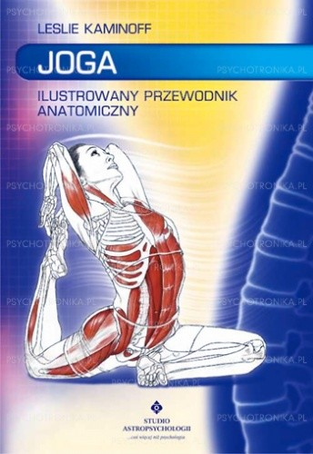 Okładka książki Joga. Ilustrowany przewodnik anatomiczny