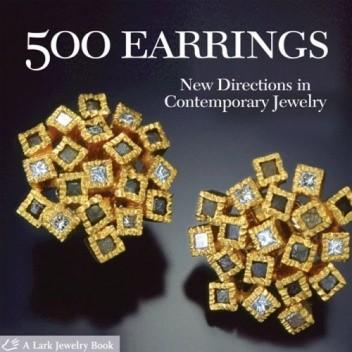 Okładka książki 500 Earrings: New Directions in Contemporary Jewelry