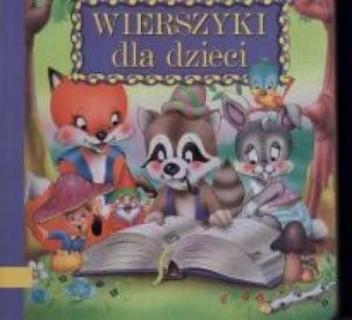 Okładka książki Wierszyki dla dzieci