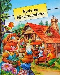 Okładka książki Rodzina Niedźwiadków