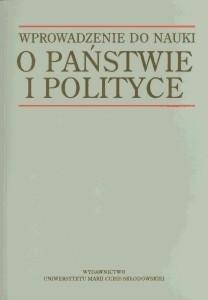 Okładka książki Wprowadzenie do nauki o państwie i polityce